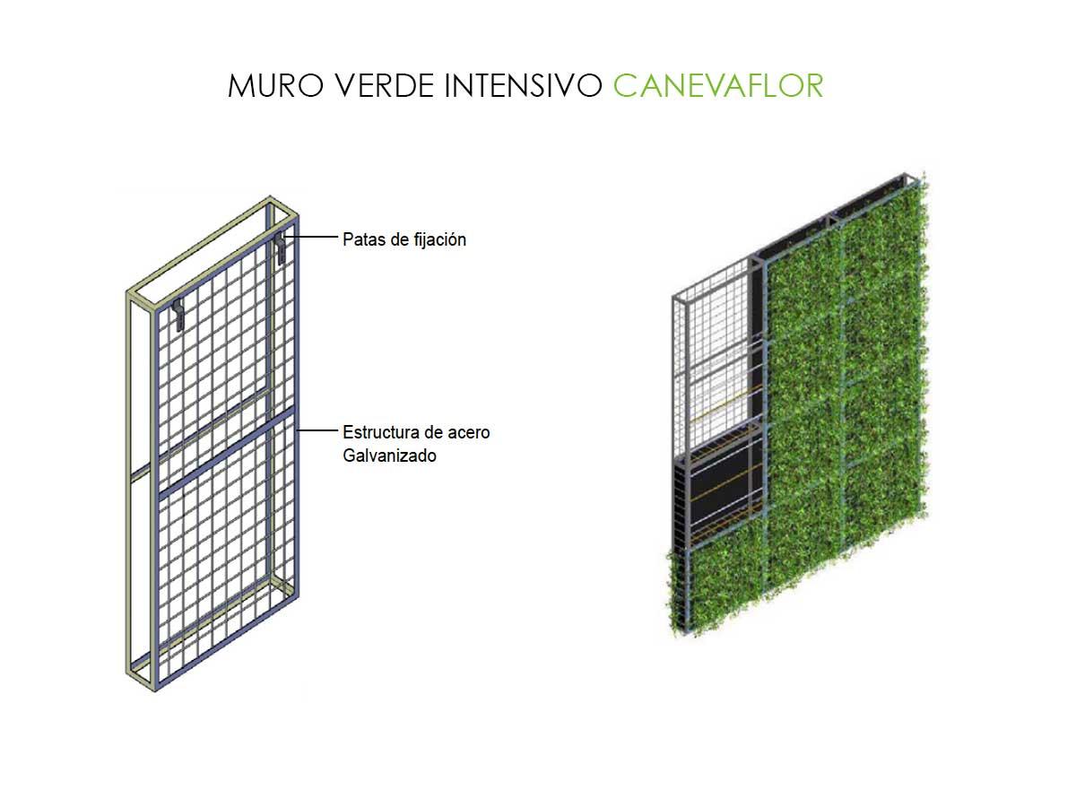 fachadas verdes activas canevaflor productos